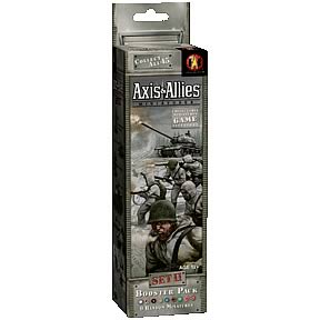 Axis & Allies Miniatures Set 2 Boosters