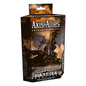 Axis & Allies Miniatures War at Sea Starters