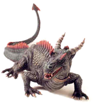 24 inch Dragon Action Figure