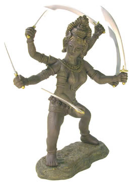 12 inch Kali Action Figure