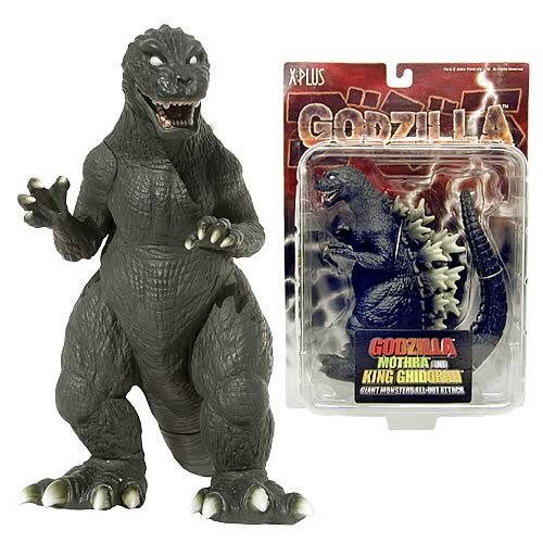Godzilla 2001 : GMKG Roto-Cast Figure Set