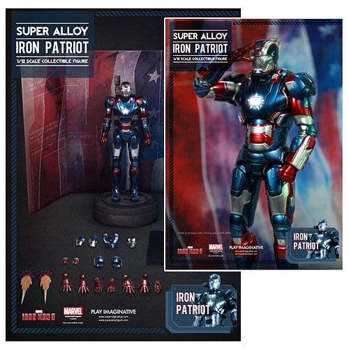 IM3 Iron Patriot Super Alloy 1:12 Light-Up Figure