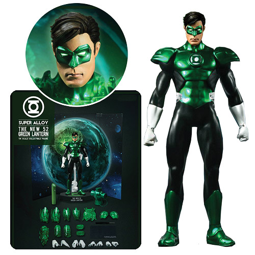 Green Lantern New 52 1:6 Die-Cast Metal Light-Up Figure