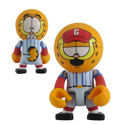 Garfield Baseball Player Garfield Trexi Mini-Figure