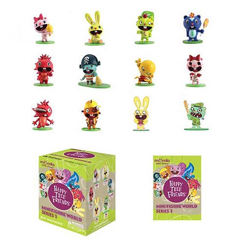 Happy Tree Friends World Series 1 Action Figure 5-Pack