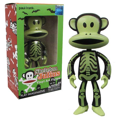 Paul Frank Skeleton Julius Vinyl Art Figure