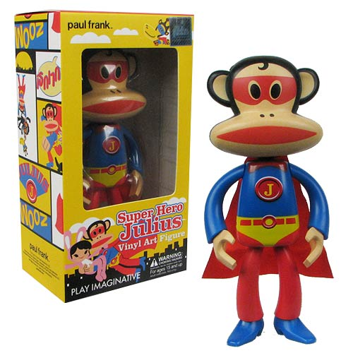 Paul Frank Superhero Julius Vinyl Art Figure