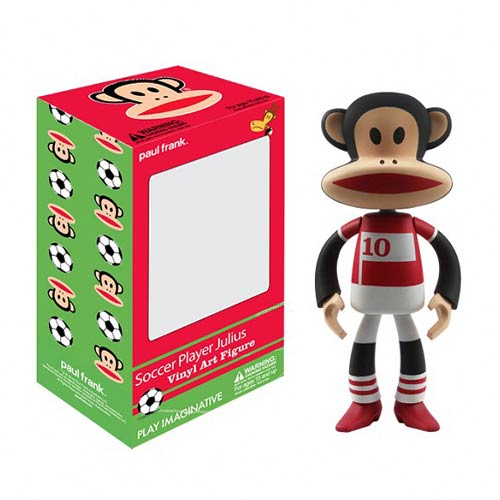Paul Frank Soccer Player Julius Vinyl Art Figure