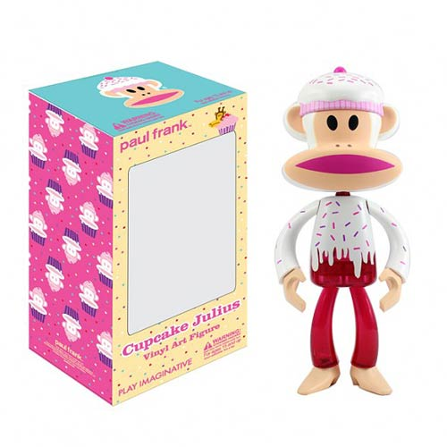 Paul Frank Cupcake Julius Vinyl Art Figure