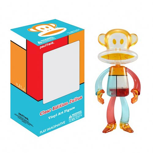 Paul Frank Clear Version Julius Vinyl Art Figure
