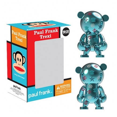 Paul Frank Julius Blue Chrome Trexi Mini-Figure