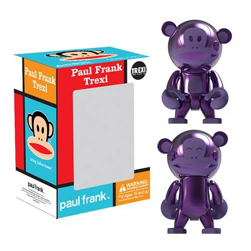 Paul Frank Julius Purple Chrome Trexi Mini-Figure