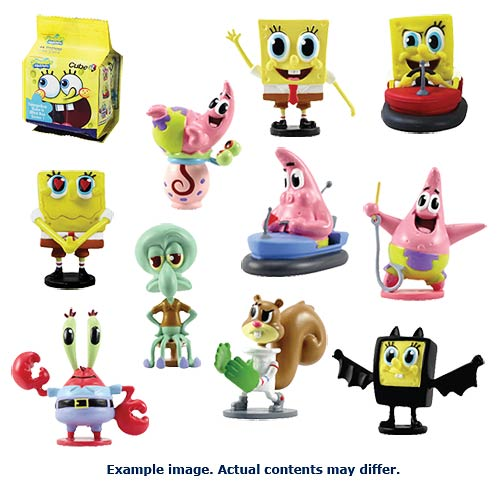 SpongeBob SquarePants Cube-It Mini-Figure 4-Pack