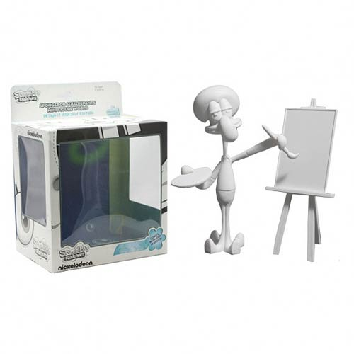 SpongeBob SquarePants DIY Squidward Painting Mini-Figure