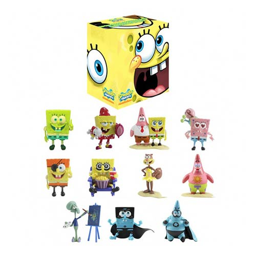 SpongeBob SquarePants Mini-Figure World Blind Box Figure
