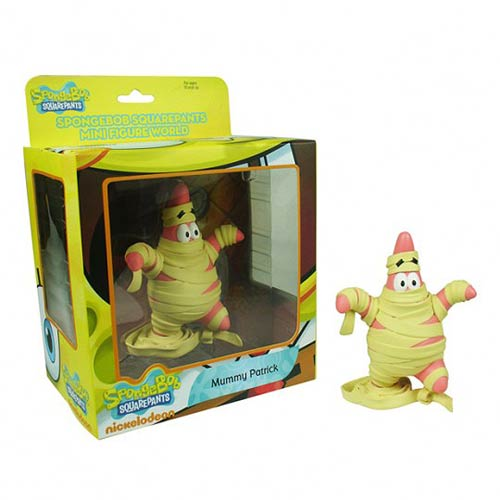 SpongeBob SquarePants Mummy Patrick Mini-Figure