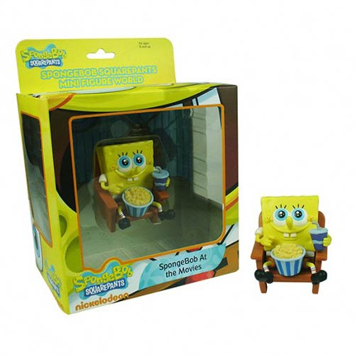 SpongeBob SquarePants SpongeBob at the Movies Mini-Figure
