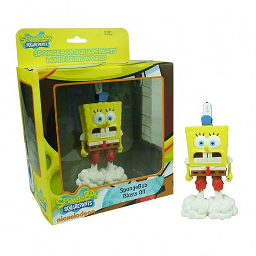 SpongeBob SquarePants SpongeBob Blasts Off Mini-Figure