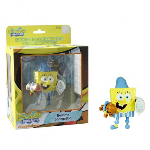 SpongeBob SquarePants Bedtime SpongeBob Mini-Figure
