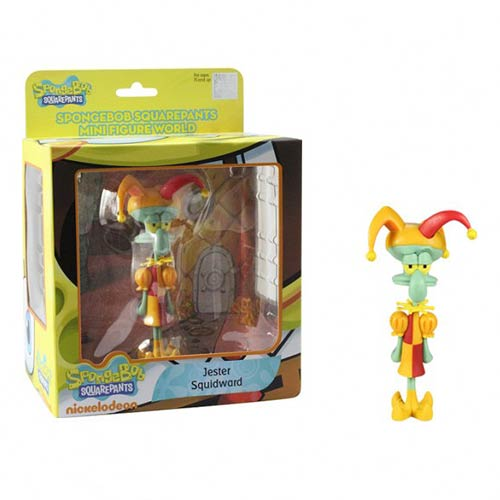 SpongeBob SquarePants Jester Squidward Mini-Figure