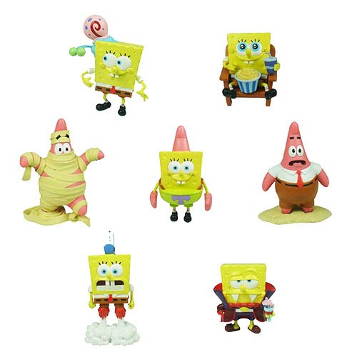 SpongeBob SquarePants World Series 1 Figure 7-Pack