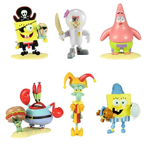 SpongeBob SquarePants World Series 2 Figure 6-Pack