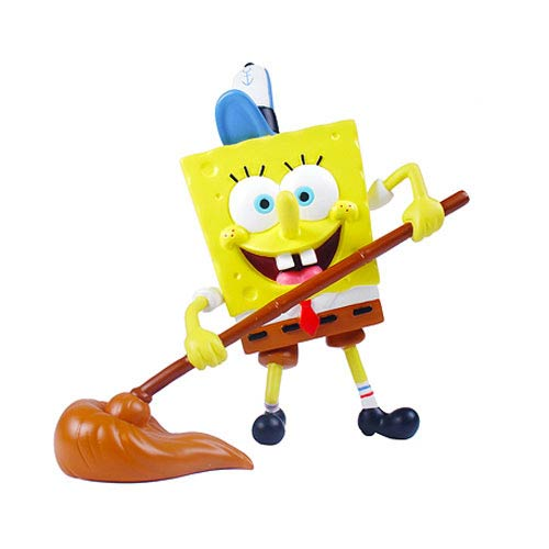 SpongeBob SquarePants SpongeBob At Work Mini-Figure