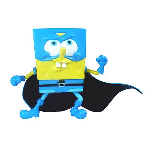 SpongeBob SquarePants Superhero SpongeBob Mini-Figure