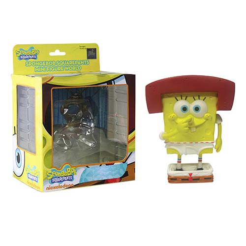 SpongeBob SquarePants Karate SpongeBob MFW Series 4 Figure