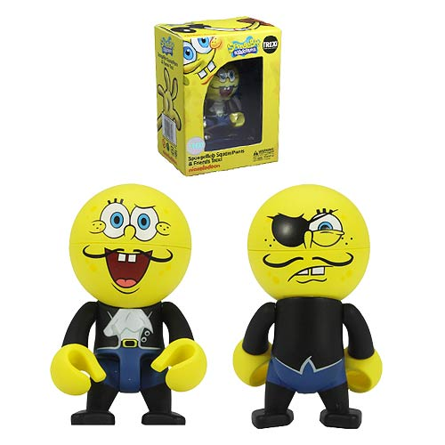 SpongeBob SquarePants Pirate SpongeBob Trexi Figure