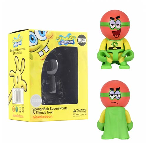 SpongeBob SquarePants Superhero Patrick Trexi Mini-Figure