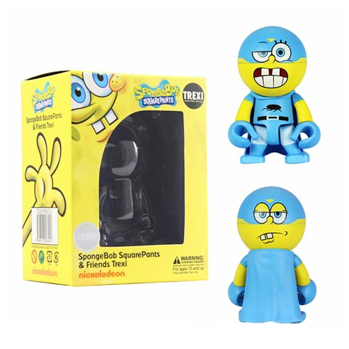 SpongeBob SquarePants Superhero SpongeBob Trexi Mini-Figure