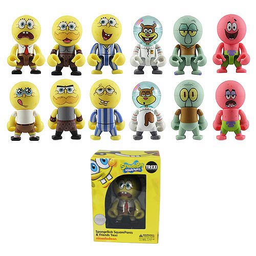 SpongeBob SquarePants and Friends Trexi Mini-Figure Case