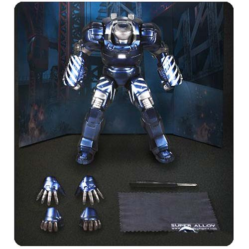 Iron Man 3 Mark 38 Igor Super Alloy Die-Cast Light-Up Figure