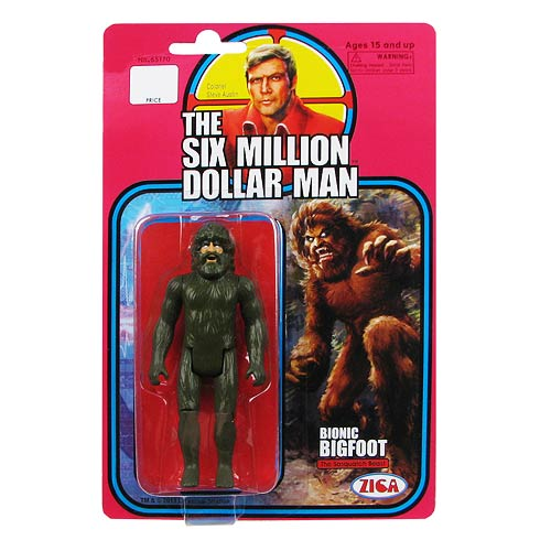 Six Million Dollar Man Bionic Bigfoot Retro Action Figure