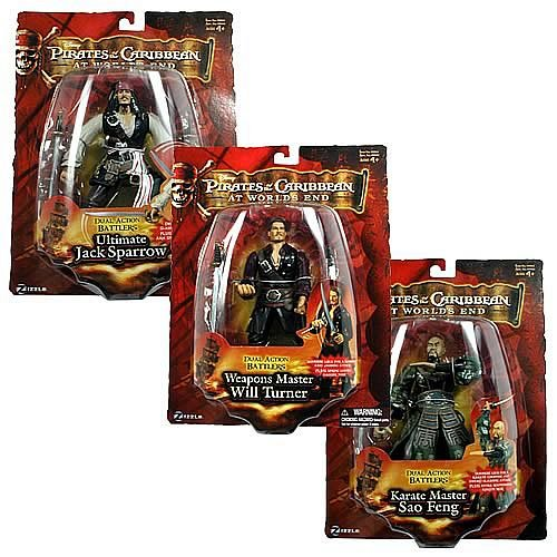 Pirates 3 Pirate Battler 7-Inch Action Figures Wave 1