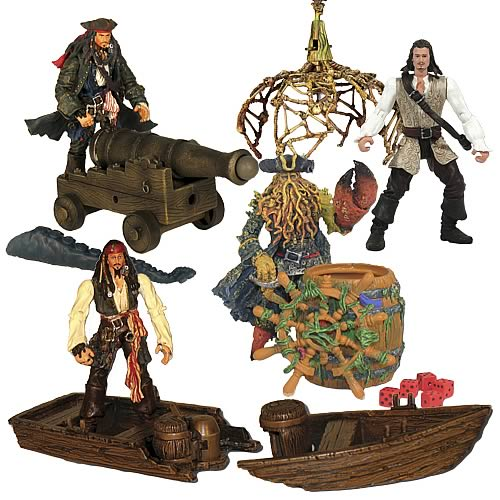Pirates 2 Deluxe 3 3/4-Inch Action Figures Wave 1
