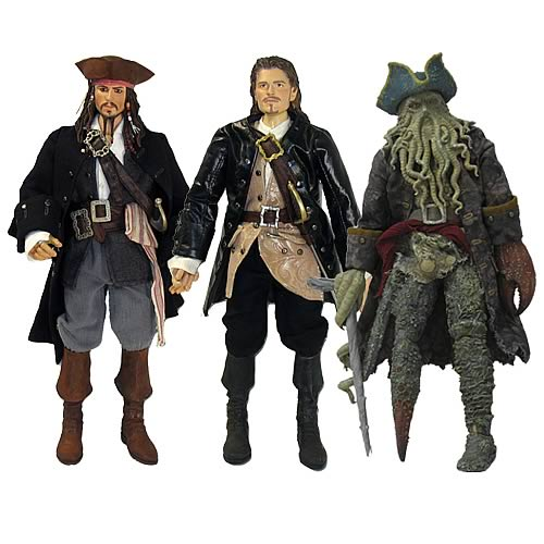 Pirates Of The Caribbean Toys : Pirates figures inch wave zizzle of the