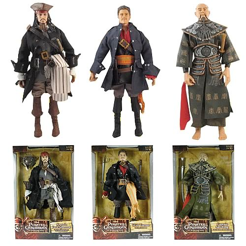 Pirates 3 12-Inch Figures Wave 1