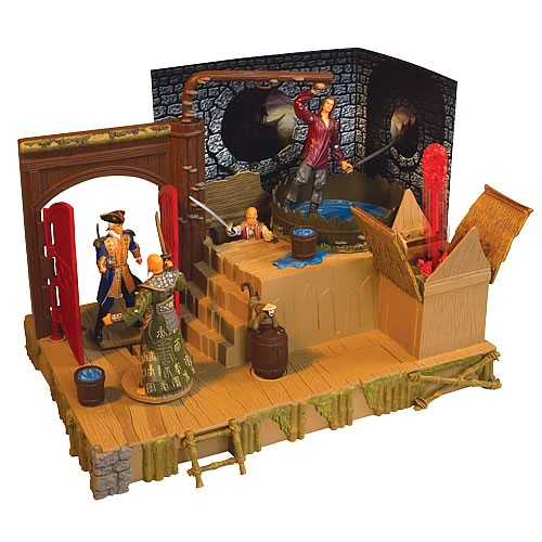 Pirates of the Caribbean 3 Singapore Playset