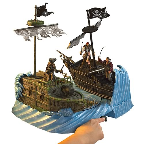 Pirates of the Caribbean 3 Whirlpool Melee Playset