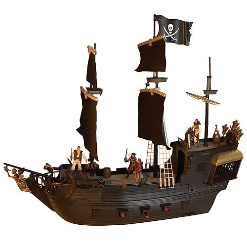 Pirates of the Caribbean 3 Electronic Black Pearl Playset