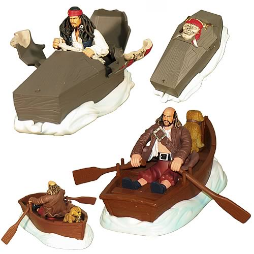 Pirates 2 Bump-n-Go Assortment Wave 1 Set