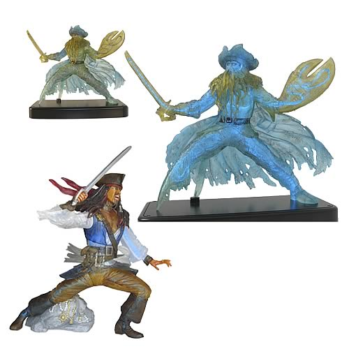 Pirates 2 Electro Luminescent Figures Wave 1