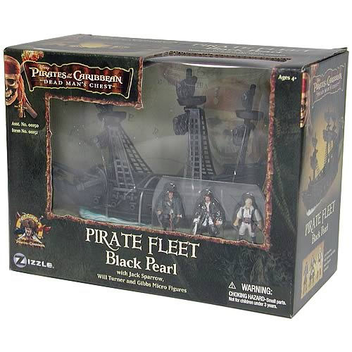 Pirates 2 Pirate Fleet Wave 1 Black Pearl