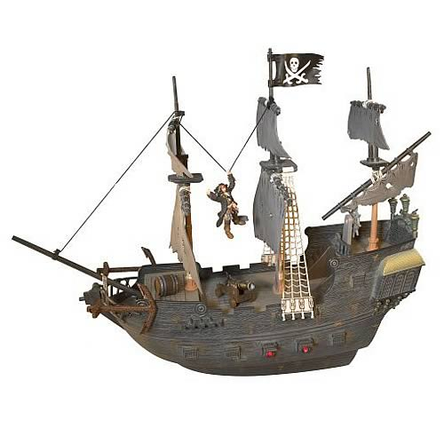 Pirates of the Caribbean 3 RC Rocking Black Pearl and Figure