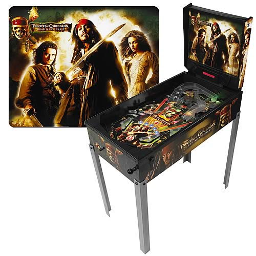 Pirates of the Caribbean 2 Pinball