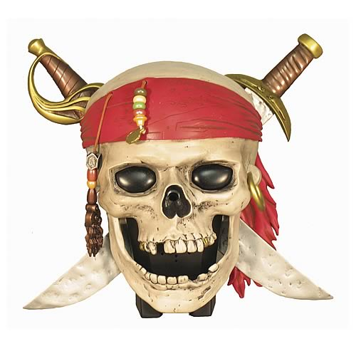 Pirates of the Caribbean 2 Talking Skull Room Alarm