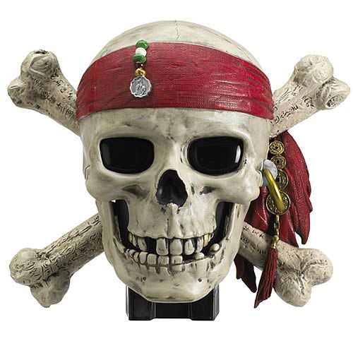 Pirates of the Caribbean 3 Talking Skull Room Alarm