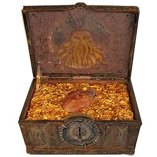 Pirates of the Caribbean 3 Davy Jones Haunted Locker Bank